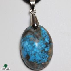 Pendentif pierre naturelle Turquoise