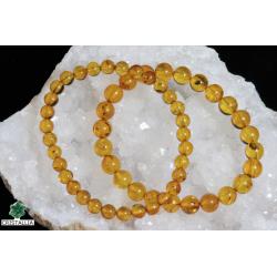 Bracelet perles Ambre 6 et 8 mm