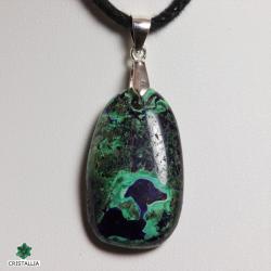 Pierre naturelle Azurite Malachite bijoux