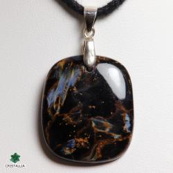 Bijou pierre naturelle Pietersite