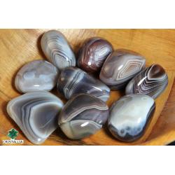 Agate du Botswana pierre roulée