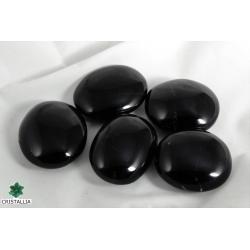 Pierre naturelle tourmaline noire