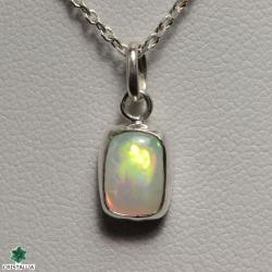 Pendentif Argent Opale Ethiopie