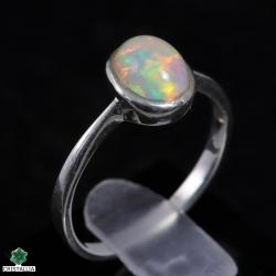 Bague argent Opale noble
