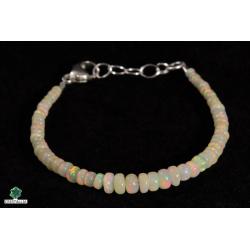 Bracelet Opale noble Ethiopie