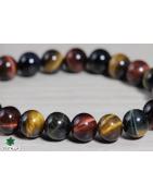 Bracelet élastique perles naturelles